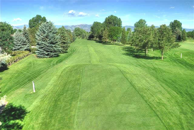 A view of the 6th fairway at Collindale Golf Course