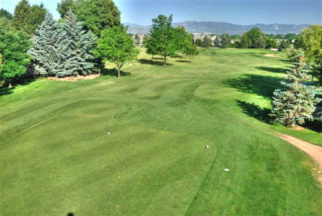 A view from the 3rd tee at SouthRidge Golf Club