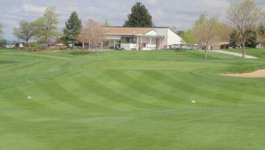 A view of the clubhouse at South Suburban Golf Course