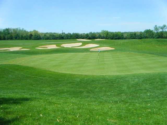 A view of hole #2 at Buffer Park Golf Course