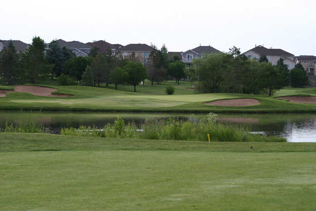 A view of the 12th hole at Raccoon Creek Golf Course