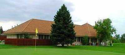 A view of the clubhouse at Southglenn Country Club