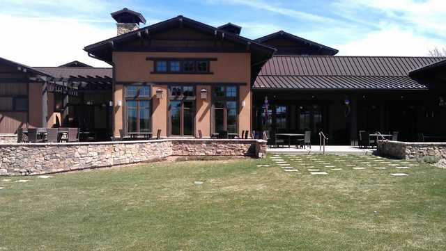 A view of the clubhouse at Pinery Country Club.