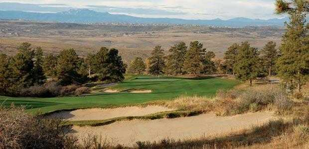 A view of the 1st hole at Colorado Golf Club