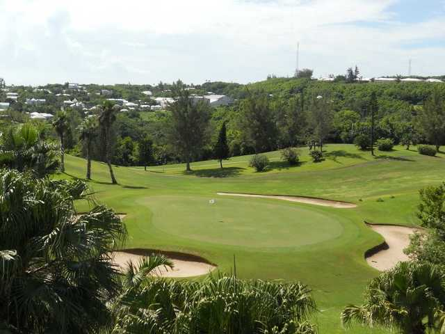 A view of hole #7 at Ocean View Golf Club