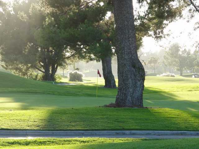 Rio Hondo Golf Club: 2nd green
