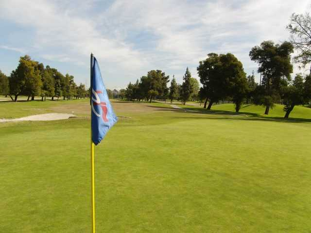 A view of the 4th fairway from green at Rio Hondo Golf Club