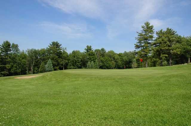 A view from Waukewan Golf Club