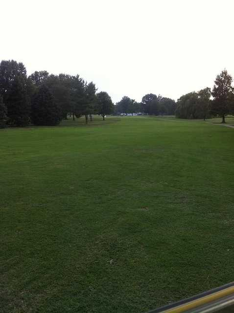 A view of fairway #8 at McDonald Golf Course