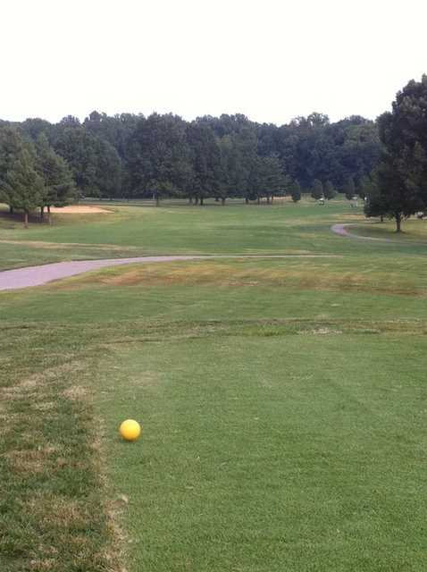 A view from the 1st tee at McDonald Golf Course