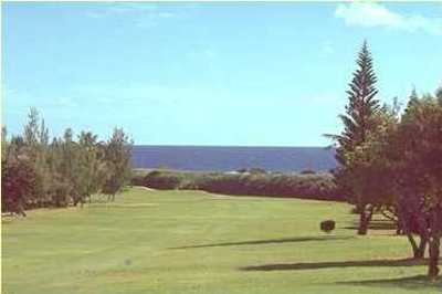 A view of fairway #14 at Hawaii Kai Golf Course