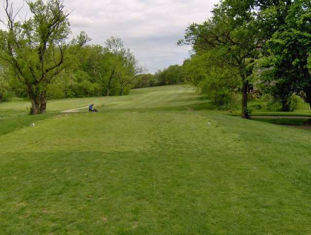 A view of tee #1 at Orchards Executive Golf Course
