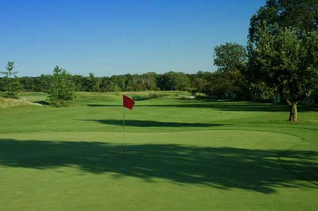 A view of hole #4 at Mystic Ridge from Oakville Executive Golf Course