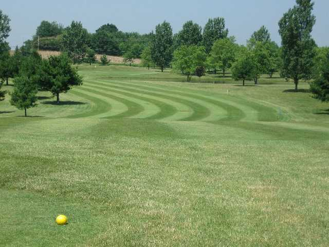 A view from a tee at Ravenswood Golf Club