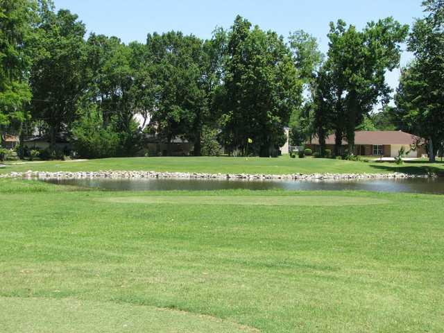 A view of green at Grand Ridge Golf Club