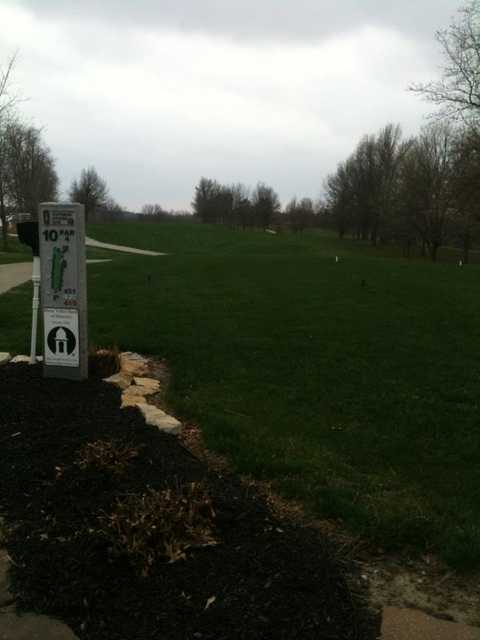 A view from tee #10 at Plattsburg Country Club