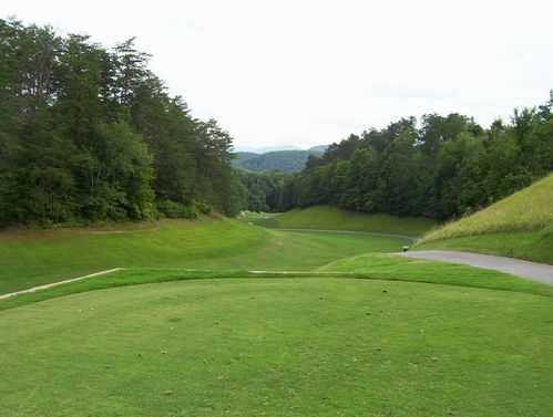 A view from Gatlinburg Golf Course