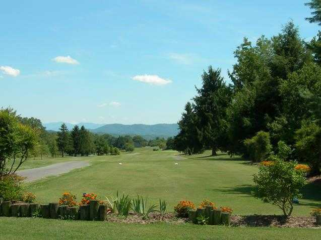 A view of the 9th fairway at Baneberry Golf & Resort