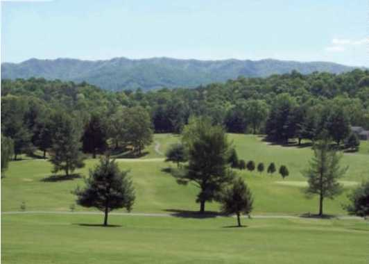 A view from Smoky Mountain Country Club