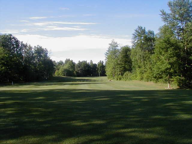 A view of hole #5 at Arrowhead Golf Club