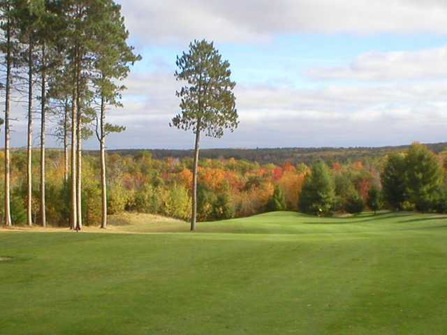 A view of hole #12 at White Pine National Golf Club