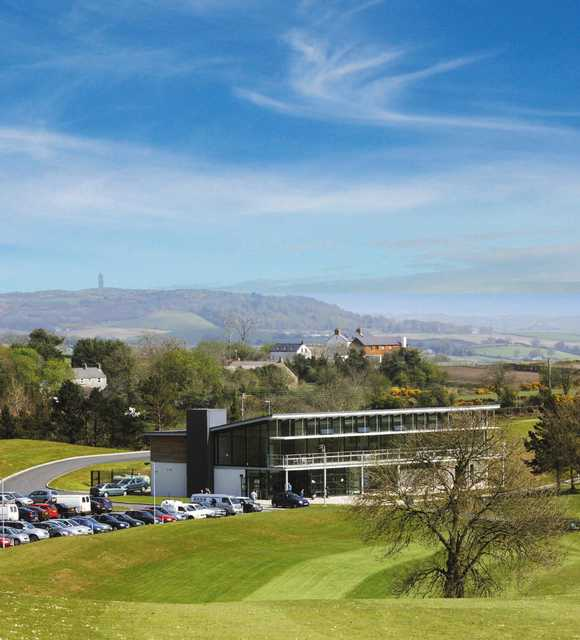 Castlereagh Hills GC: Clubhouse view