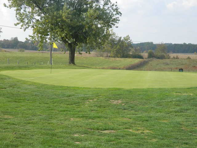 A view of the 2nd hole at High Pointe Country Club