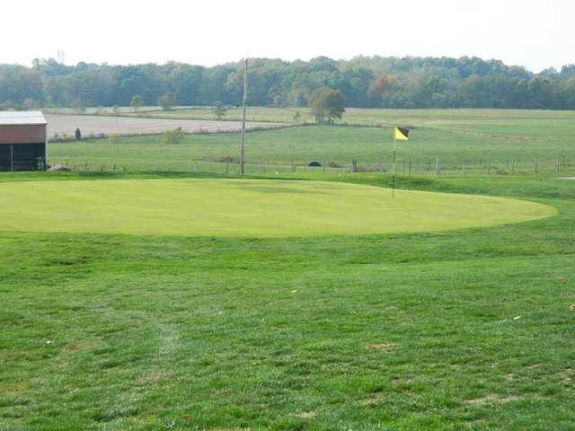 A view of hole #1 at High Pointe Country Club