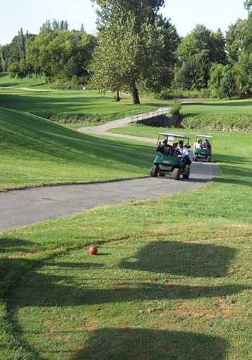 A view from red tee at New Rogell Golf Course