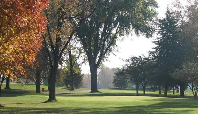 A fall view from Maple Lane Golf Club