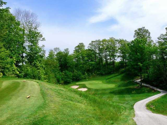 A view from tee #16 at Crown Golf Course