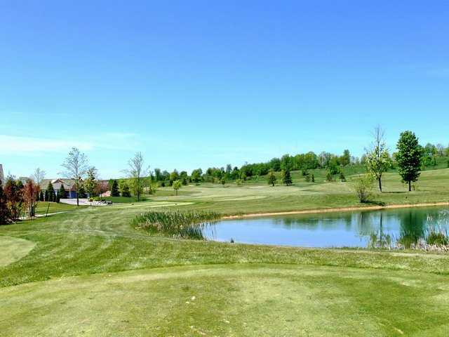 A view from the 10th tee at Crown Golf Course