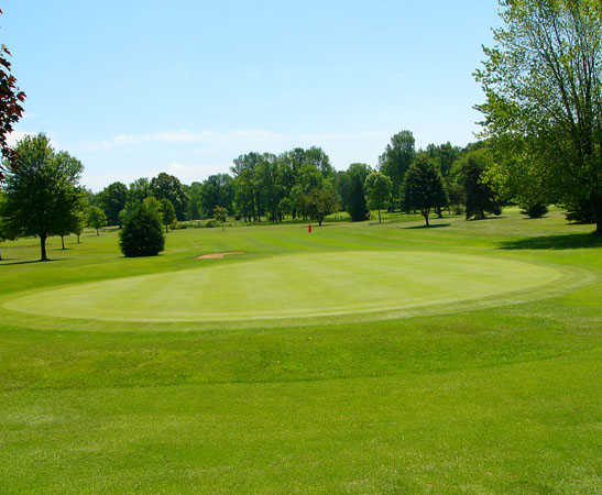 A view of hole #6 at Vassar Golf & Country Club
