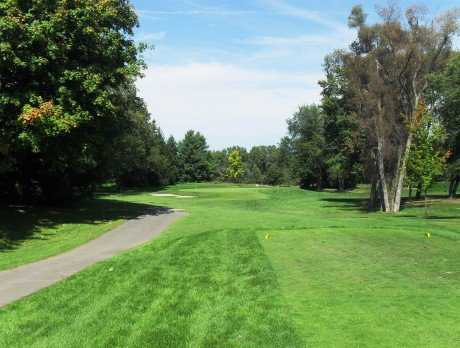 A view from the 4th tee at Oak Lane Golf Course