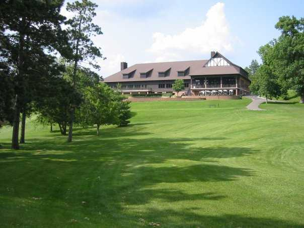 A view of the clubhouse at Rochester Golf & Country Club