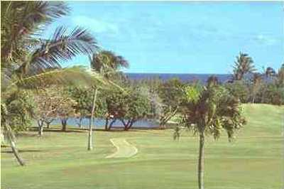 A view of the 3rd hole at Hawaii Kai Golf Course