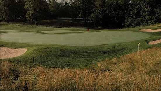 A view of the 2nd green at Fieldstone Golf Club of Auburn Hills