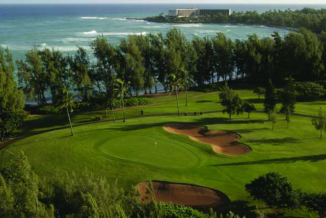 Turtle Bay Resort - George Fazio's 6th hole