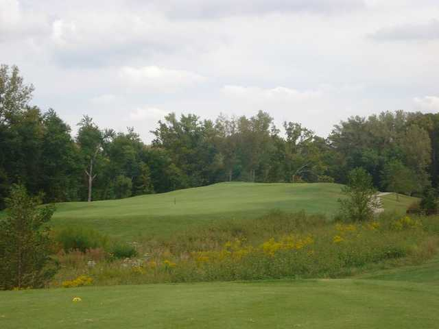 A view from tee #2 at River Course from Heart of America Golf Academy