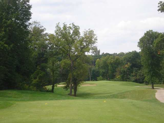 A view from the 5th tee at River Course from Heart of America Golf Academy