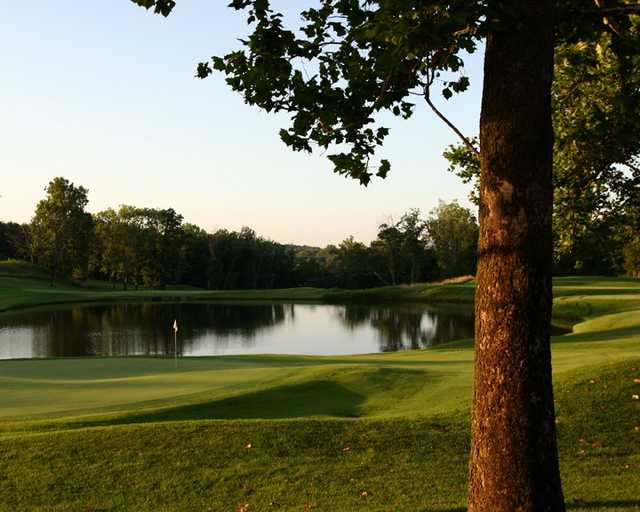 A view of the 4th hole at National Golf Club of Kansas City