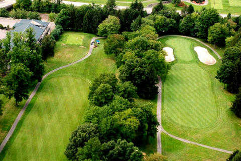 Aerial view from Lakeview Golf Resort & Spa