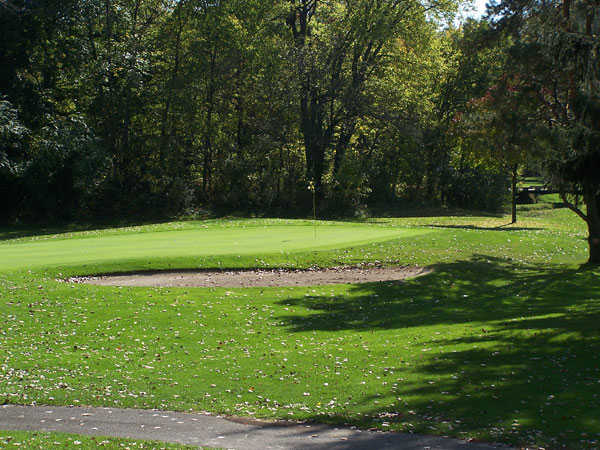 A view of hole #7 at West Course from Bridgewater Golf Club