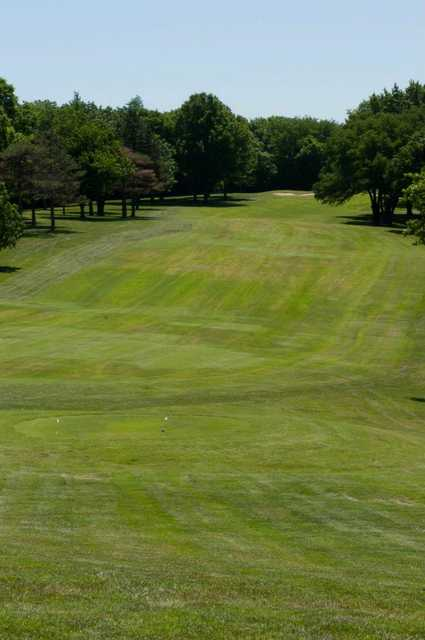 A view from the 10th tee at Oakwood Country Club