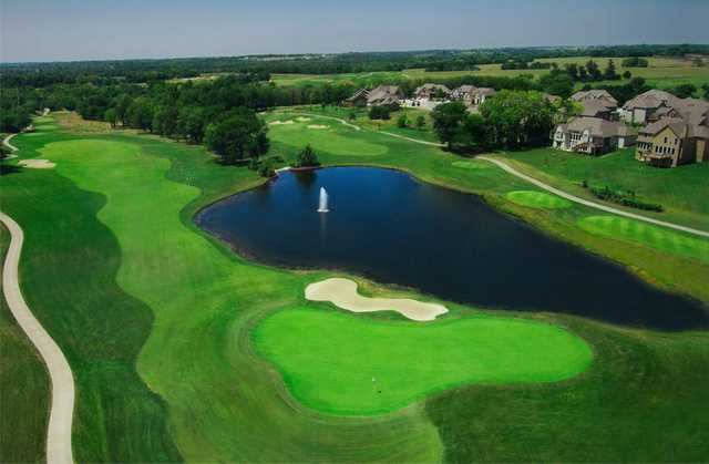 Aerial view from Shoal Creek Golf Course
