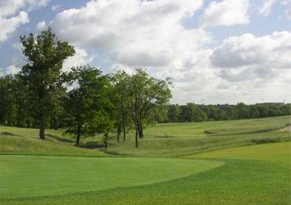 A view from tee #10 at Staley Farms Golf Club