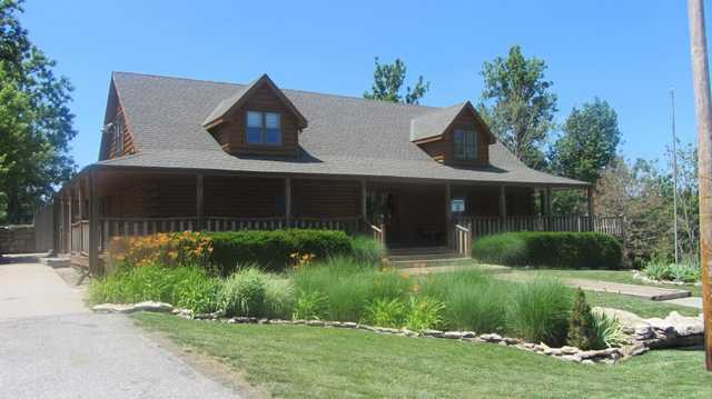 A view of the clubhouse at The Athletic and Golf Club of Maple Creek