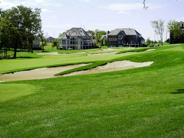 A view of hole #11 at Tiffany Greens Golf Club