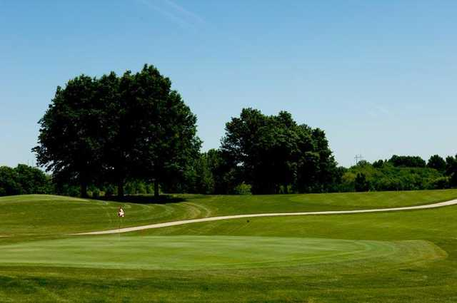 A view of hole #9 at Cardinal Hill Golf Club