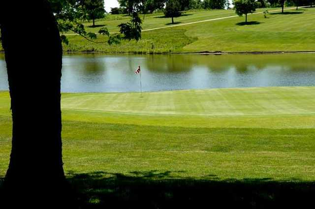 A view of the 12th hole at Cardinal Hill Golf Club